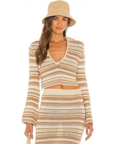 Sweter z haftem Tularosa