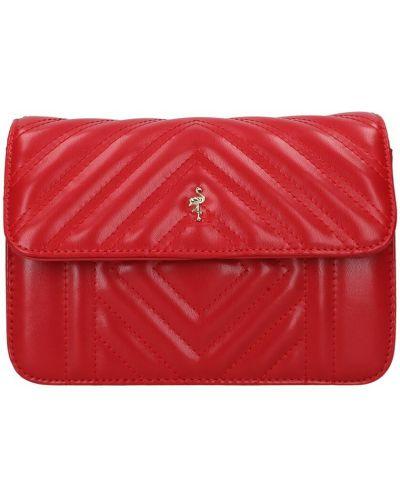 Czerwona torba na ramię Menbur