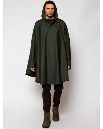 Zielony ponczo Rains
