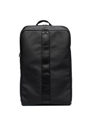 Czarny plecak z nylonu Rapha