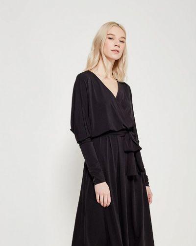 Черное платье с длинными рукавами Alina Assi