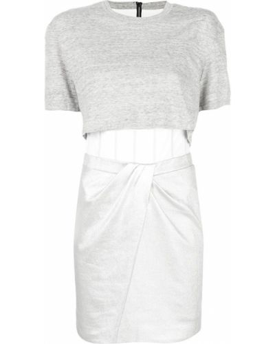 Платье серое плиссированное Rta