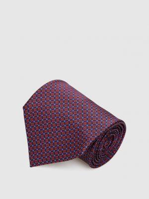 Шелковый галстук - красный Stefano Ricci