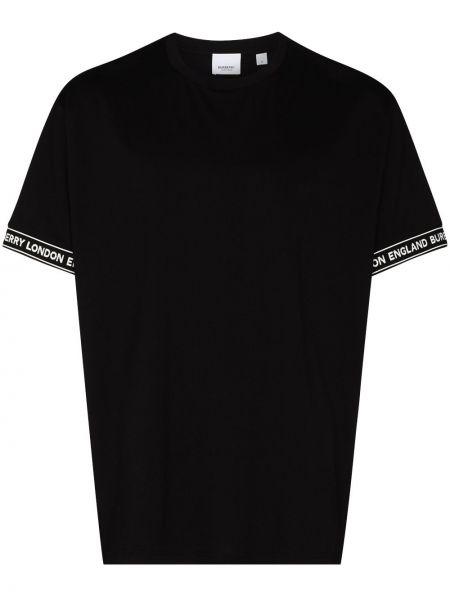 Bawełna bawełna czarny koszula Burberry