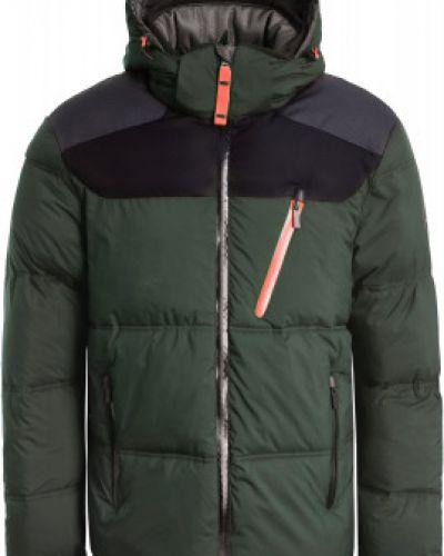Зеленая теплая куртка Icepeak