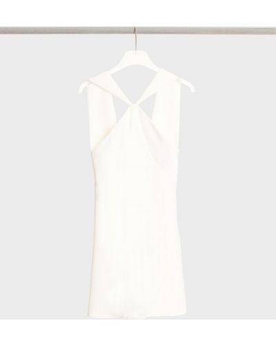Приталенное платье мини - белое Barbara Bui