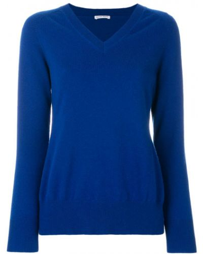 Синий свитер кашемировый Tomas Maier