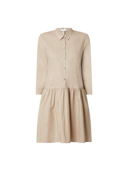 Sukienka rozkloszowana - beżowa Cinque