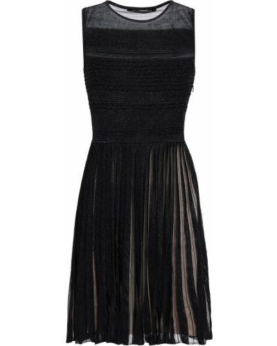 Czarna sukienka bez rękawów Antonino Valenti