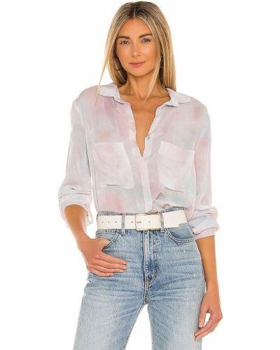 Рубашка с карманами - розовая Bella Dahl