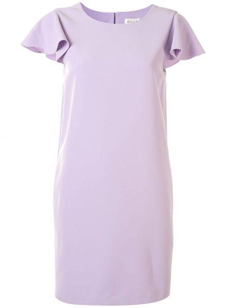 Платье мини со вставками трапеция Milly