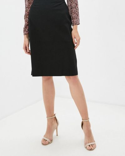 Черная прямая юбка карандаш Trussardi Collection