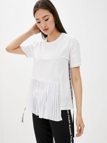 Футбольная белая футболка Blugirl Folies