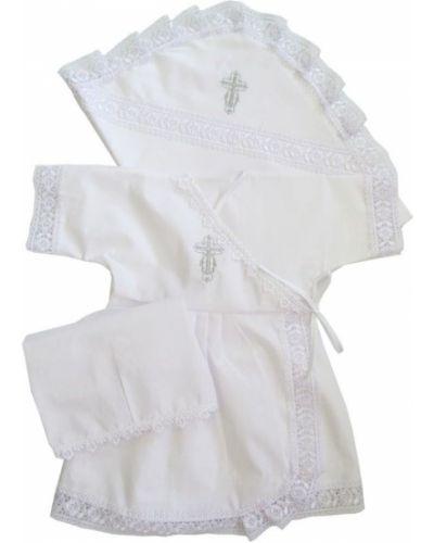 Платье хлопковое крестильное папитто