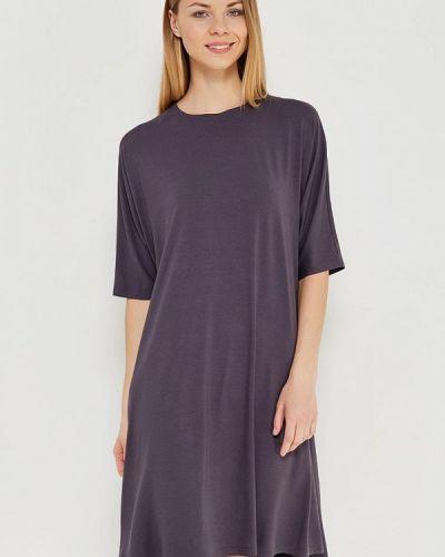 Серое платье футболка Vis-a-vis