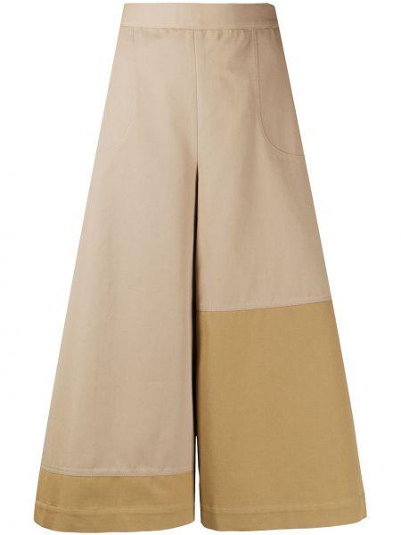 Расклешенные брюки с карманами на молнии Loewe