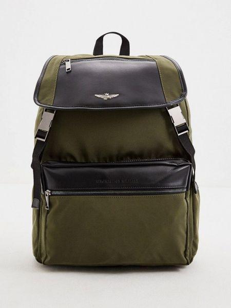 Рюкзак хаки зеленый Aeronautica Militare