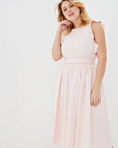 Платье розовое Calista