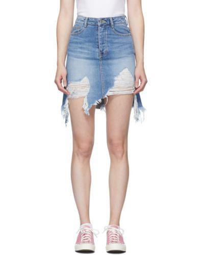 Юбка мини джинсовая пачка Sjyp