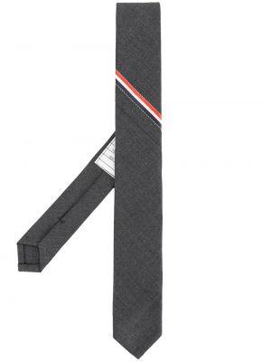 Krawat wełniany - biały Thom Browne