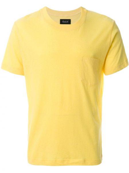 Хлопковая желтая футболка Howlin'