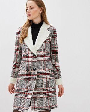 Пальто демисезонное серое Trendyangel