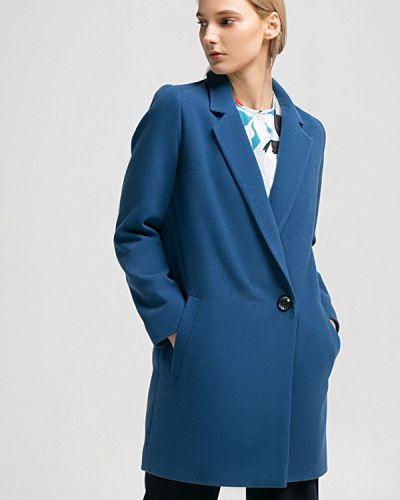 Синее пальто весеннее Grass
