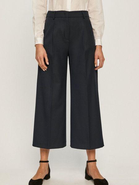 Синие с завышенной талией брюки с карманами Max&co