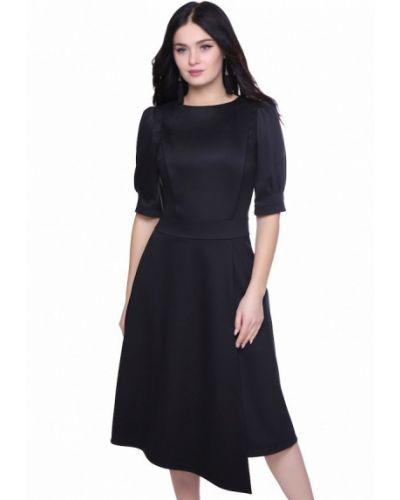 Черное деловое платье Grey Cat