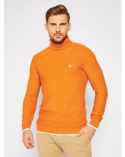 Pomarańczowy golf Guess