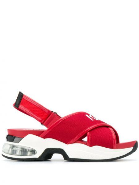 Спортивные сандалии красные открытый Karl Lagerfeld