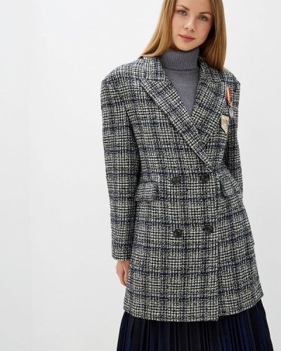 Пальто демисезонное серое Silvian Heach