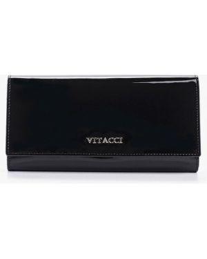 Кошелек черный Vitacci