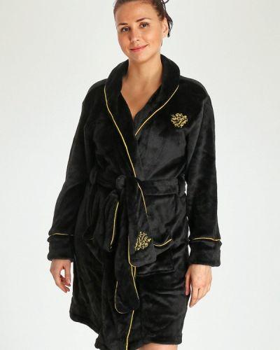 Домашний халат - черный Marissimo