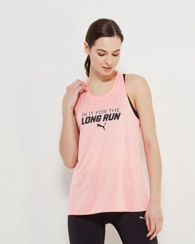 Розовая спортивная майка Puma