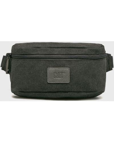 Текстильная поясная сумка - серая Caterpillar