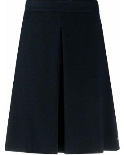 Плиссированная юбка - синяя Tommy Hilfiger