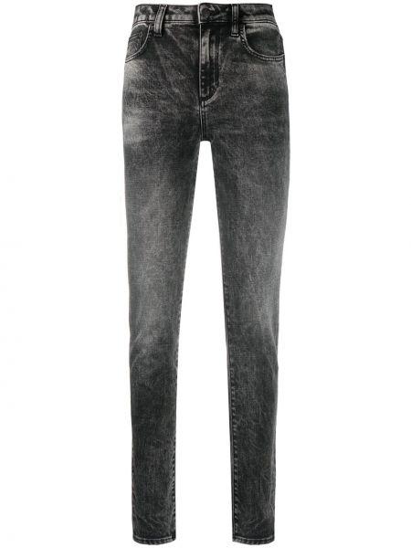 Джинсовые зауженные джинсы - черные Department 5