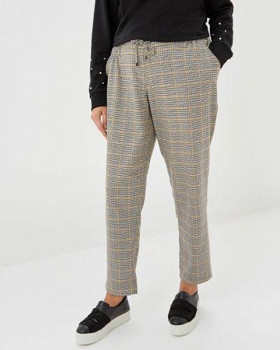 Серые брюки повседневные Ulla Popken