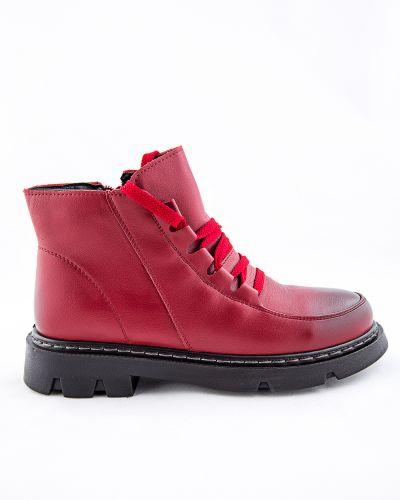 Красные ботинки Meitesi