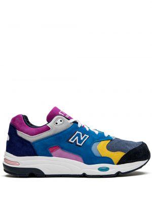 Розовые кроссовки на каблуке New Balance