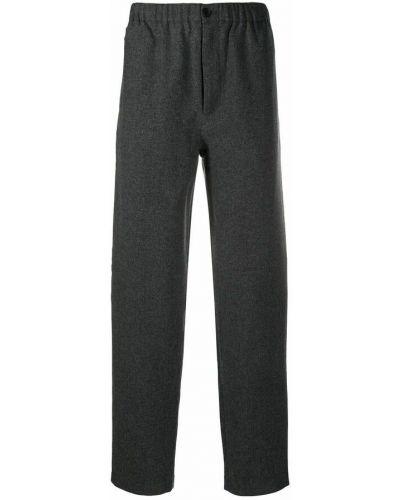 Spodnie wełniane - szare Kenzo