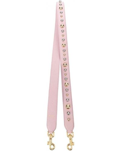 Кожаный ремень с заклепками Dolce & Gabbana