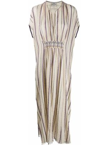Платье мини с вышивкой с воротником Forte Forte
