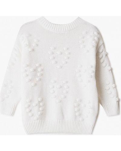 Белый свитер Sela