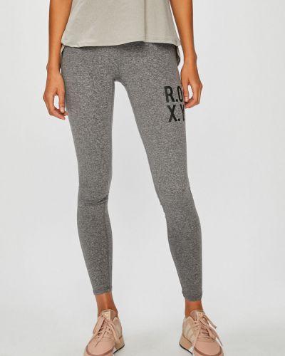 Серые брюки на резинке Roxy