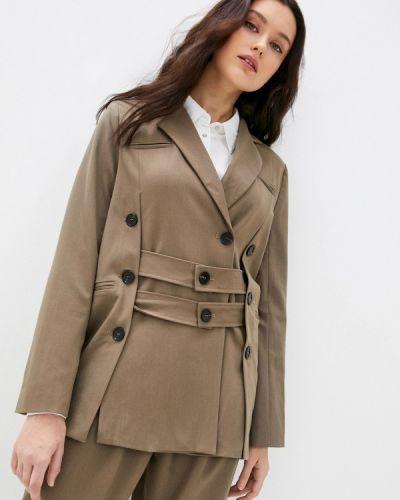 Пиджак - коричневый B.style