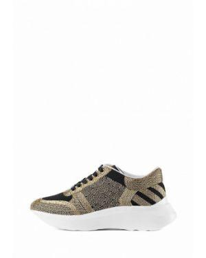 Текстильные кроссовки - бежевые Stefano Lompas