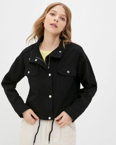 Черная джинсовая куртка Jacqueline De Yong