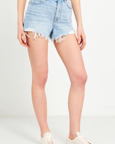 Джинсовые шорты короткие с карманами Alexander Wang